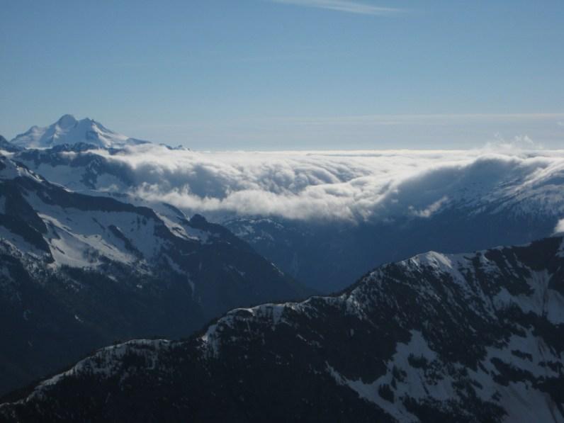 Cloud Bank Over Cascades