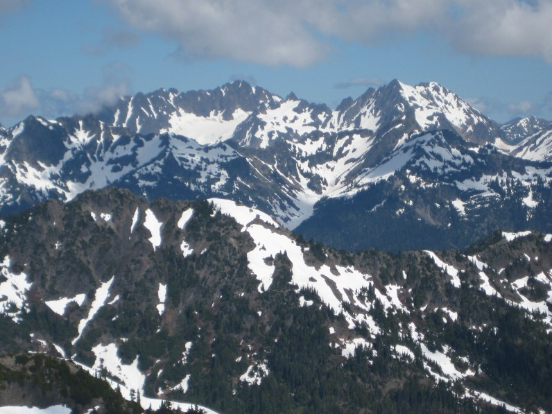 Mt Anderson West and East Peaks