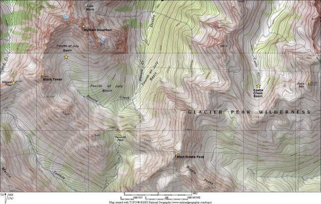 Tenmile Pass Area