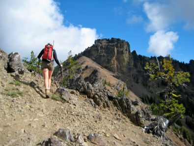 Hiking Towards Northwest Fifes Peak