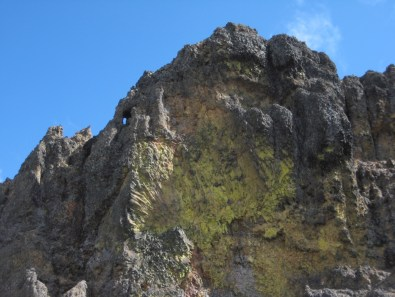 Yellow Cliff On Northwest Fifes Peak