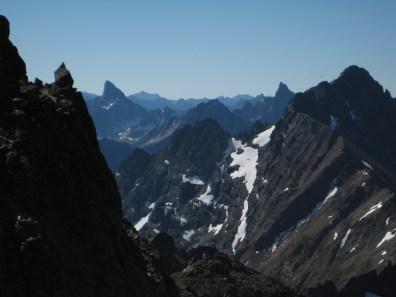 Tower Mountain, Golden Horn, and Azurite Peak