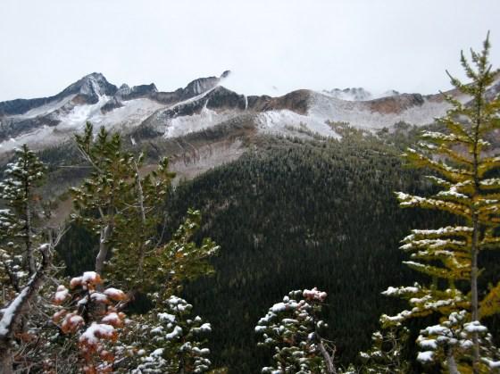 Monument Peak To Shellrock Pass