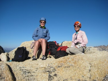 Eileen and Fay On Liberty Bell Summit