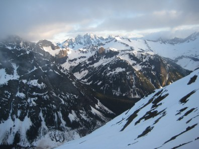 Evening View From Mesahchie Col
