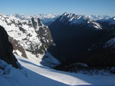 Mesahchie Buttress and Gabriel Peak