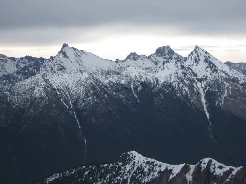 Golden Horn, Tower Mountain, and Mt Hardy