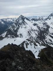 Graybeard Peak From Point 7690