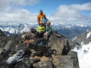 Summit Of WyEast Mountain