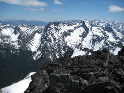 Riddle Peaks From WyEast Mountain
