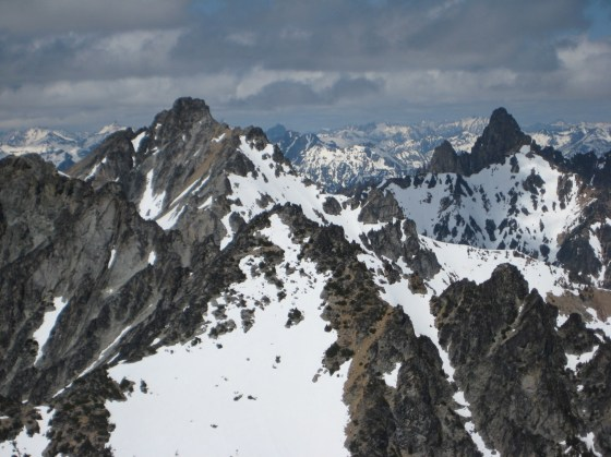 Devore and Tupshin Peaks From WyEast Mountain