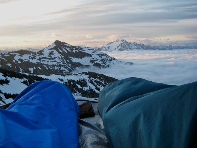 Morning View From Bivy Site