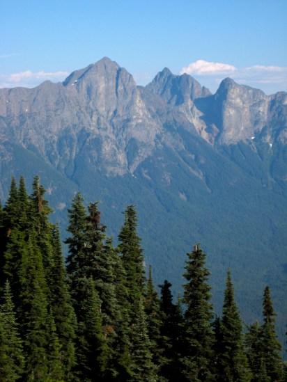 Hozomeen Mountain From Trail
