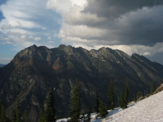 Elija Ridge From Camp 1