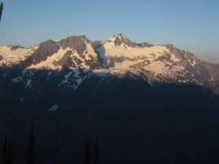 Sunset On Colonial Peak