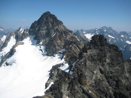 Kimtah Peak From Cosho Peak