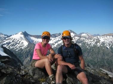 Eileen & Jim On Hurry-Up Peak