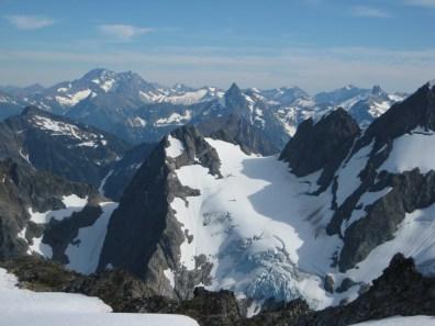 Bonanza Pk & Agnes Mtn & Gunsight Pk From Hurry-Up Peak