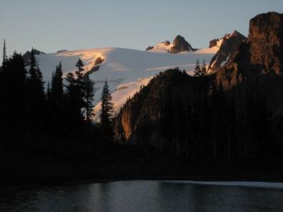 Morning Alpenglow On Old Guard Pk