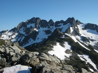 Mt Formidable From LeConte Pass