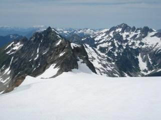 LeConte Mtn & Mt Formidable From LeConte Glacier
