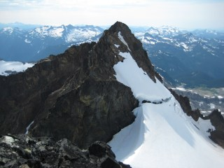 Sentinel Peak From Old Guard Peak Summit
