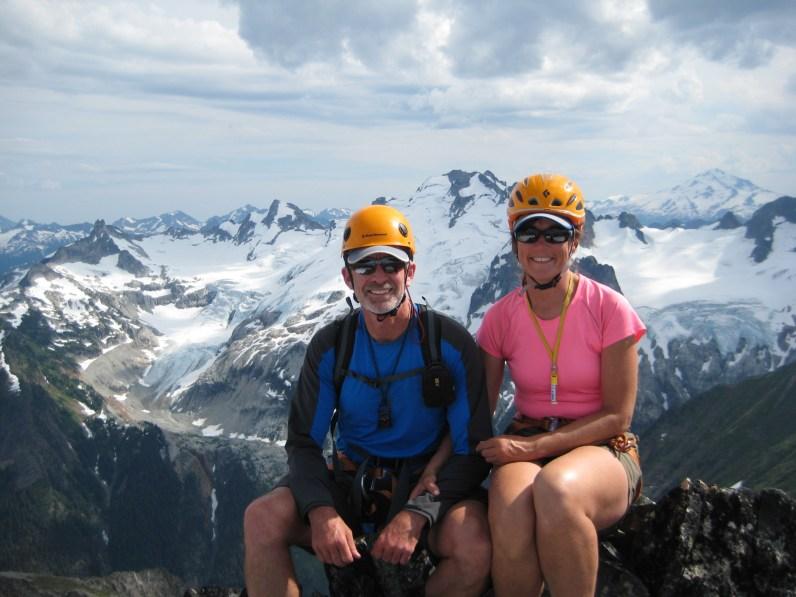 Jim & Eileen On Old Guard Peak Summit