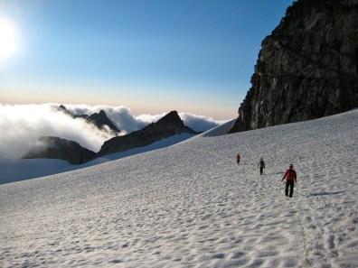 Descending Dome Glacier
