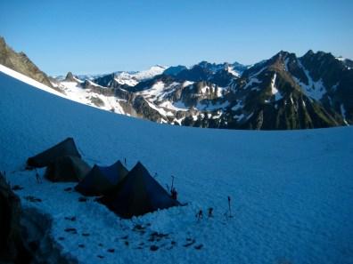 Camp At Dana-Dome Saddle