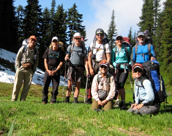 Traverse Crew In Bachelor Creek Meadow