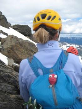 Francine With Eileen Near Summit
