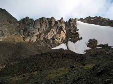 Northwest Face Of Snowgrass Mountain