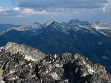 Mount Gibbs, McAlester Mountain, and Reynolds Peak From Bowan Mountain