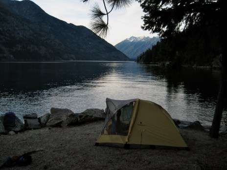 Lakeside Camp At Flick Creek