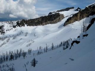 Open Slopes Below Silver Star Glacier