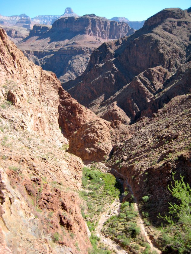 Pipe Creek Canyon From Corkscrew