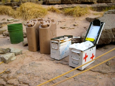 Jerry Cans and Ammo Boxes In Camp 5