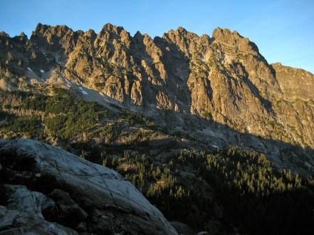 Evening Light On Bears Breast Mountain