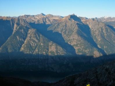 Bonanza Peak and Tupshin Peak From Boulder Butte