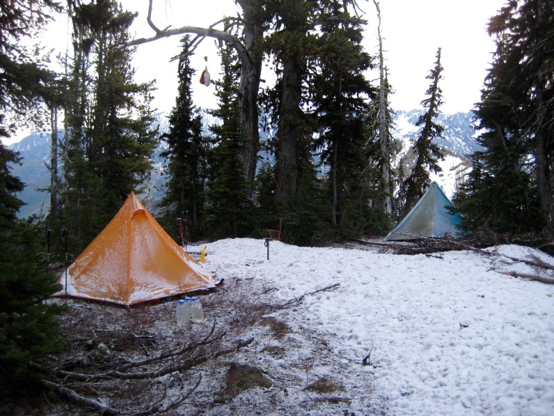 Cold Morning In Camp
