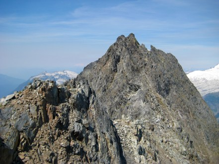 East Ridge From False Summit