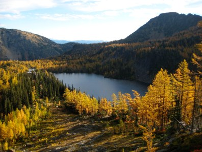 Larch Lake From Cup Lake