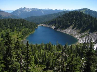 Pear Lake From Fortune Ridge