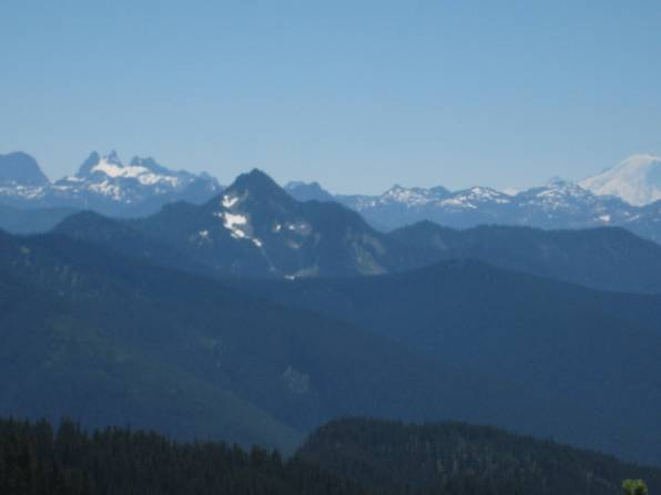 Mount Fernow From Fortune Mountain