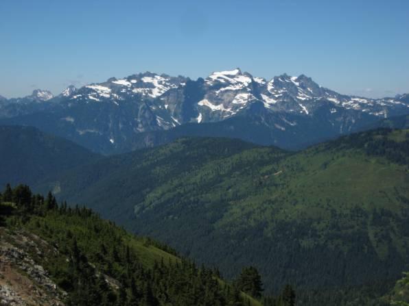 Monte Cristo Mountains From Fortune Mountain