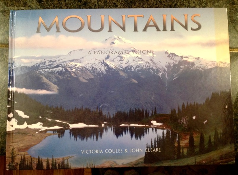 Mountains Of The World Cover Showing Image Lake & Glacier Peak