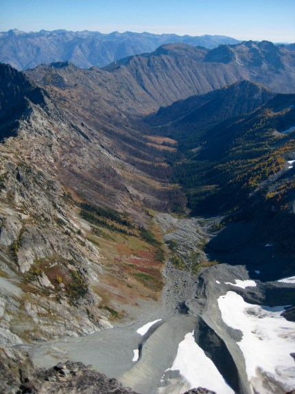 Entiat Meadows From Seven-Fingered Jack Summit