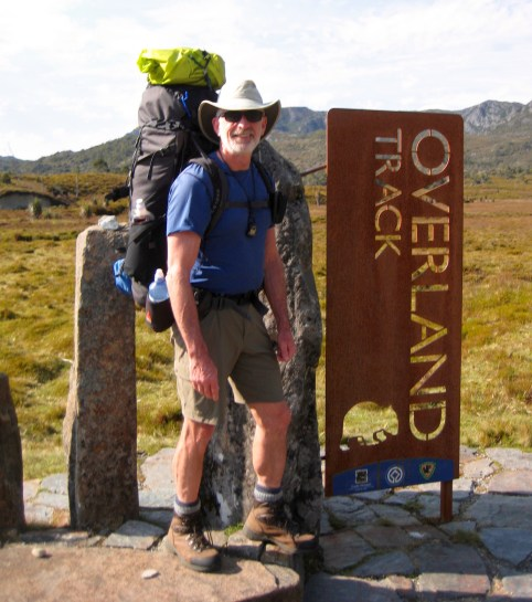 Jim At Overland Trailhead