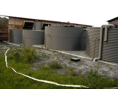 Surveyors Hut Rainwater Tanks