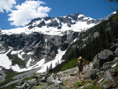 Whatcom Peak From Little Beaver Trail